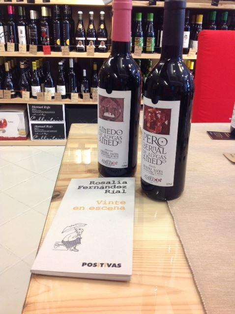 Viños Atlánticos, viños galegos, viños auténticos.